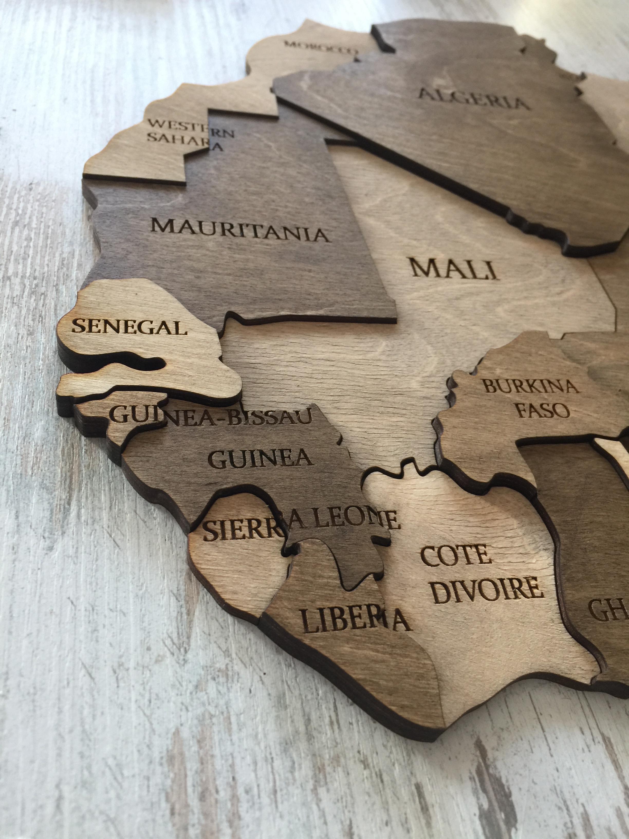 многоуровневая карта