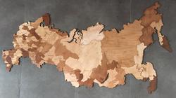 цвет рыжий карта России