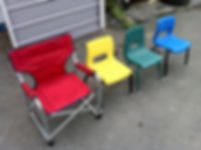 Colored Plastic Children's Chair Rental