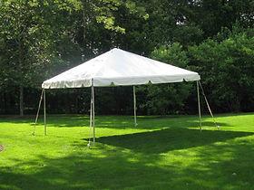 20 x 20 Frame Tent Rental