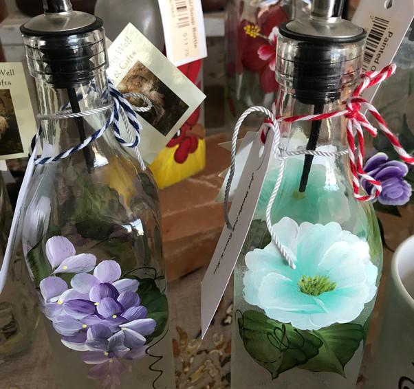 Round Painted Oil-Soap Bottles.jpg