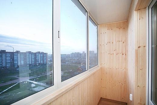 Остекление балкона или лоджии алюминий раздвижной Александров