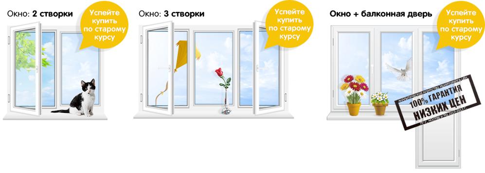 цены на пластиковые окна в александрове