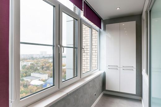 Теплое остеклени балкона или лоджии в Александрове