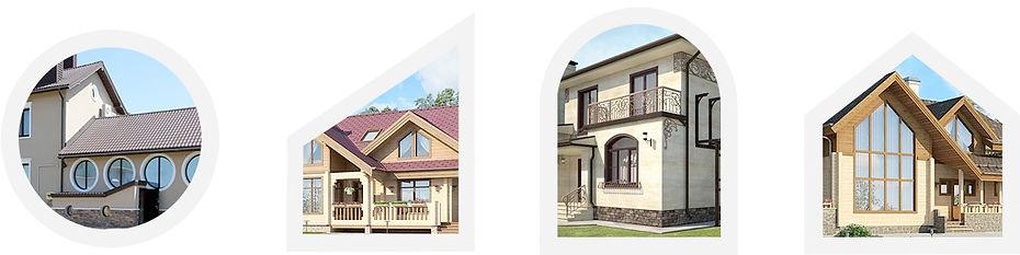 пластиковые окна для загородного дома, окна в коттедж