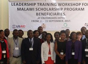 IBI Conducts Leadership Workshop in Malawi