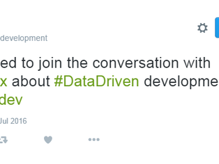 What is going on with Data Driven Development?