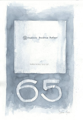 copy of Limited Edition Print of the 65 Pillar Large