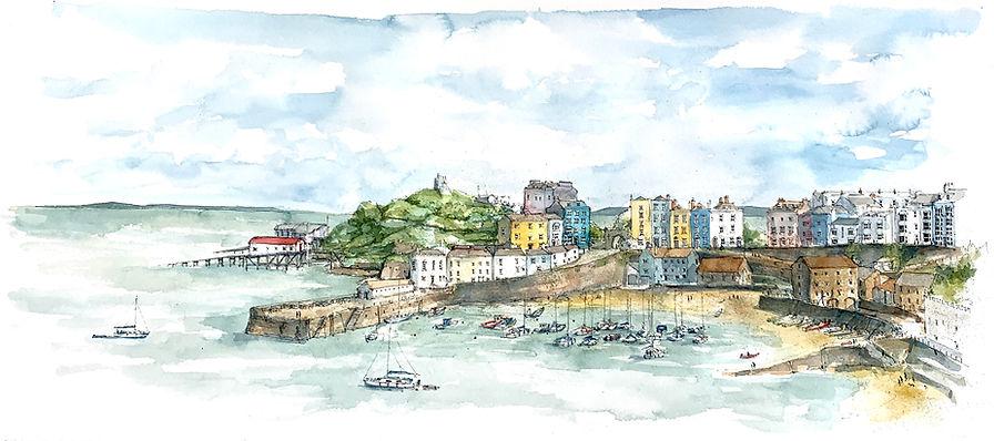 Tenby Watercolour