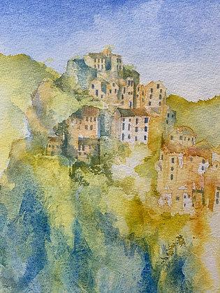 Corte in Corsica II - Print