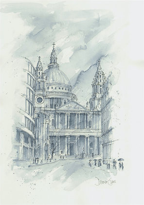 Limited Edition Print of St. Paul's Cathedral
