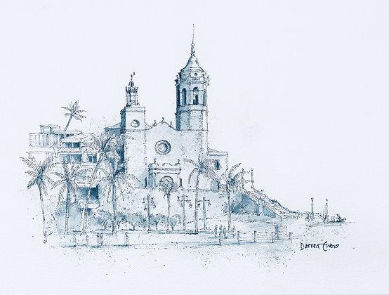 Sitges - St Bartholemew's Church - Original