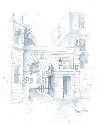 Limited Edition Print of Temple Gardens