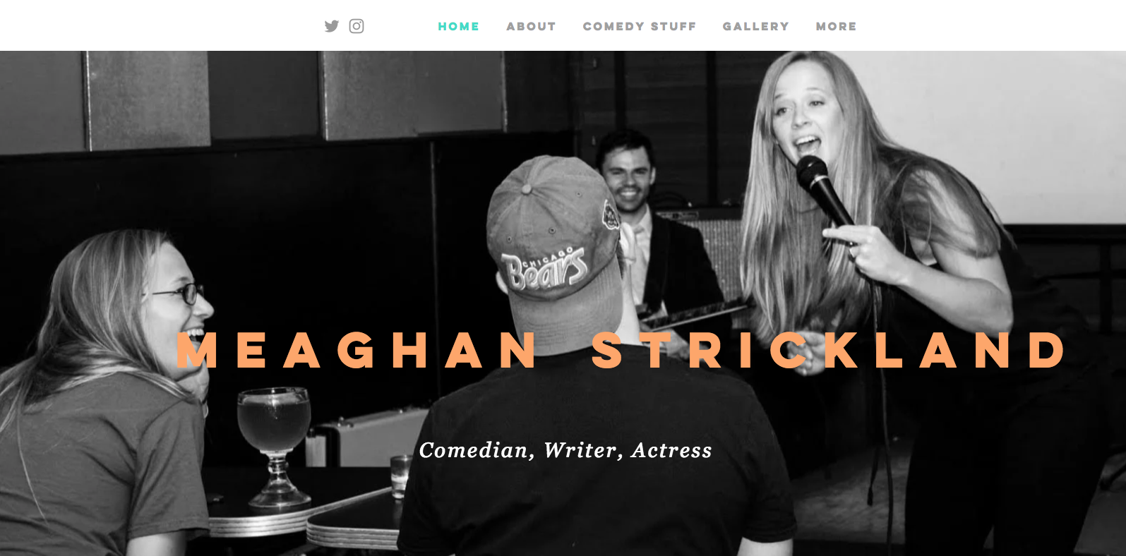 Meaghan Strickland, Comedian