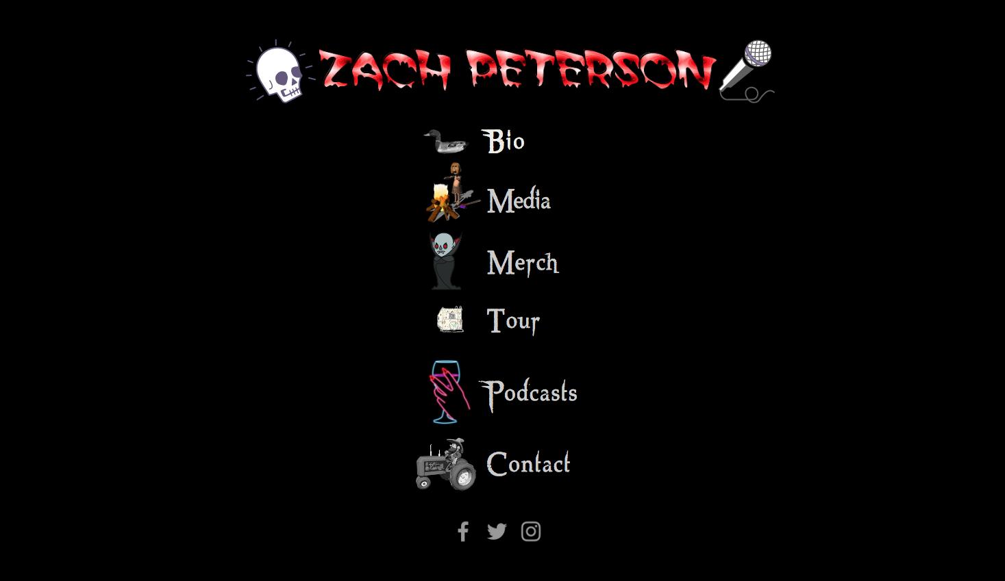 Zach Peterson Comedy