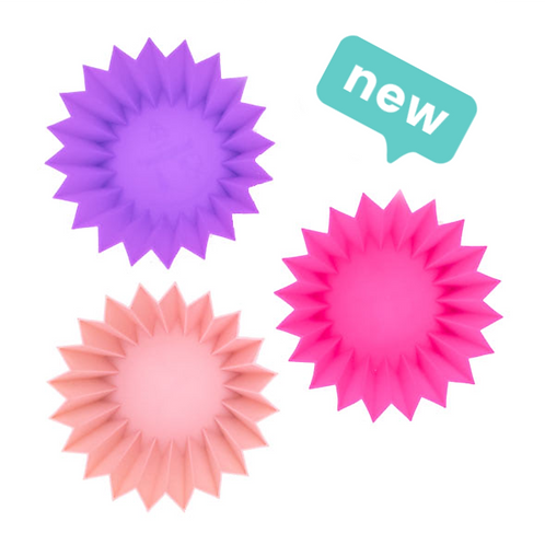Lunch Punch Silicone Cups - Pink