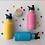 Thumbnail: MontiiCo Mini Drink Bottle - Pink