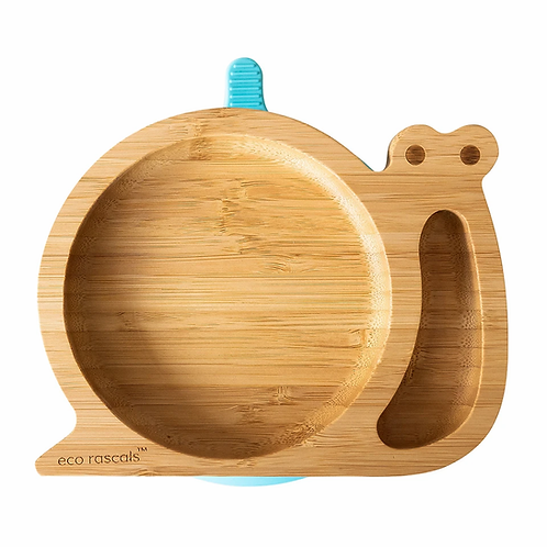 Snail Bamboo Suction Plate