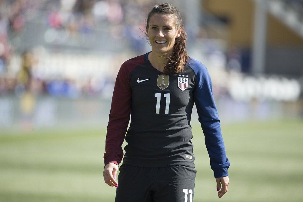 USWNT defender Ali Krieger is one my favorite players to watch.