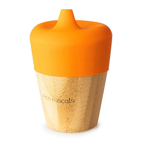 Bamboo Cup with Sippy Feeder