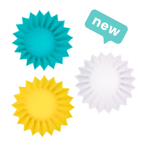 Lunch Punch Silicone Cups Set - Yellow