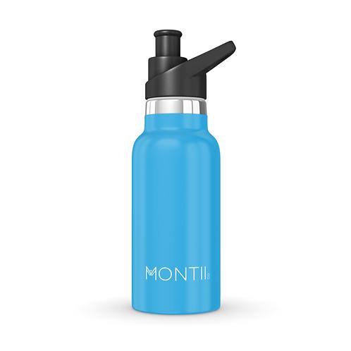 MontiiCo Mini Drink Bottle - Blue