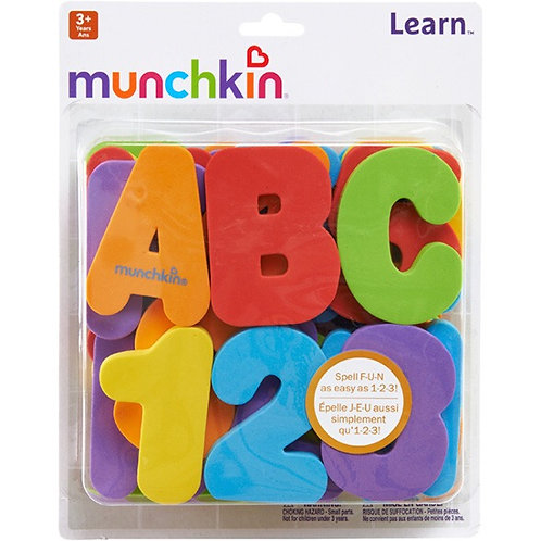 Learn™ Bath Letters & Numbers  - Primary