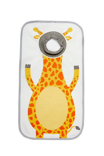 The Giant bib -Giraffe