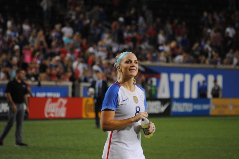 Defender Julie Ertz led the United States against New Zealand.