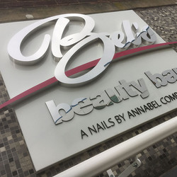 Polished Stainless Letters