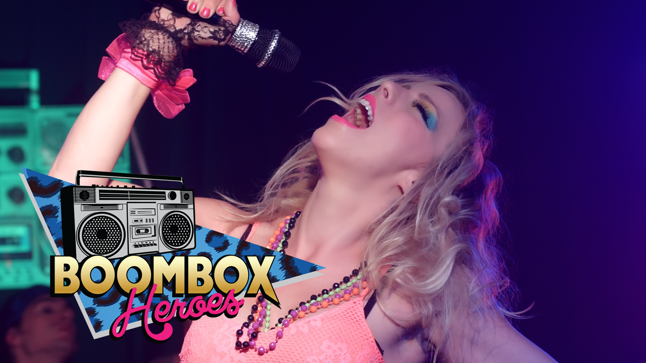 80s cover band Boombox Heroes