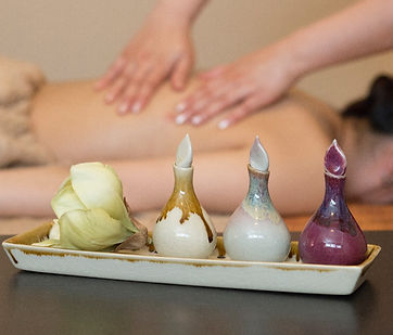 Aromaöl-Massage, Öl-Massage