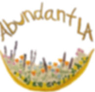 Abundant LA,  Cici Cyr, Los Angeles, Logo, Gardening, Herbalism
