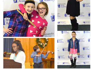 Indianapolis Music Academy Winter Recital 2018