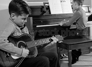 My First Guitar Lesson in 1981