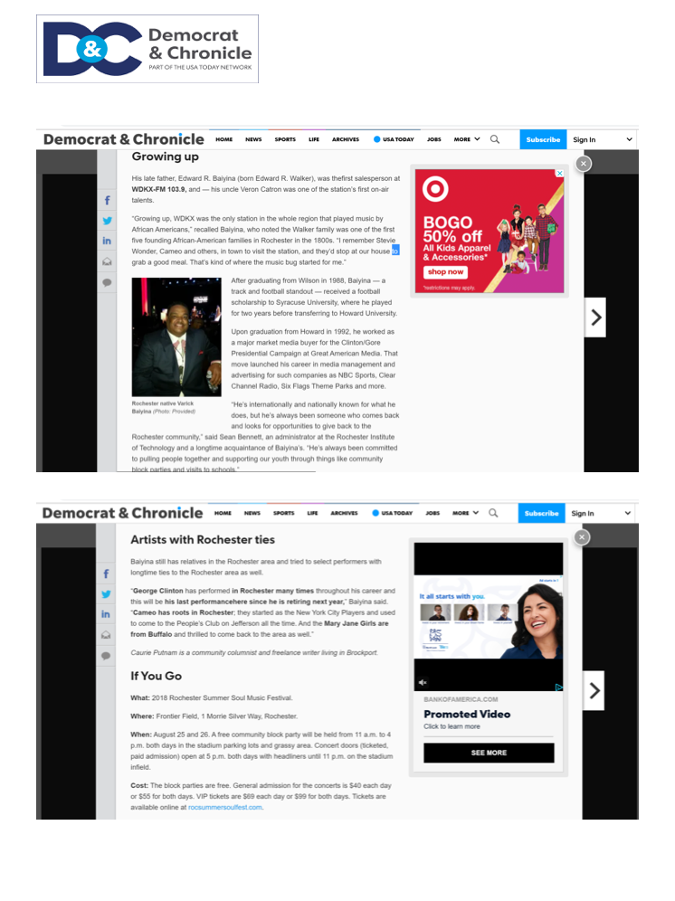 RSSMF Press - Democrat & Chronicle_1