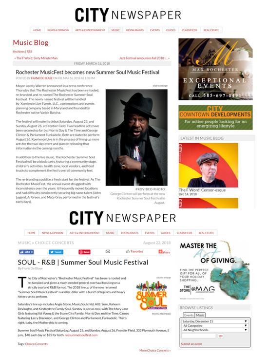 RSSMF Press - City Newspaper
