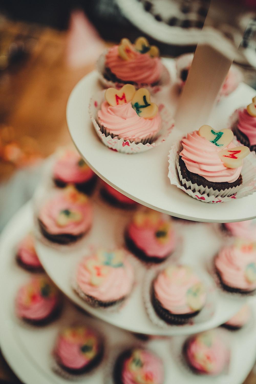 cupcakes ala svatební dort