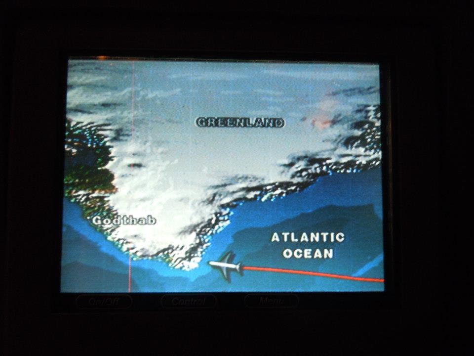 Letěli jsme i nad Grónskem!