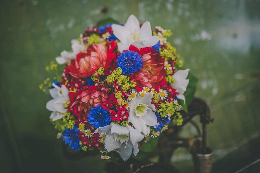 wedding bouquet - svatební kytice v rustic stylu