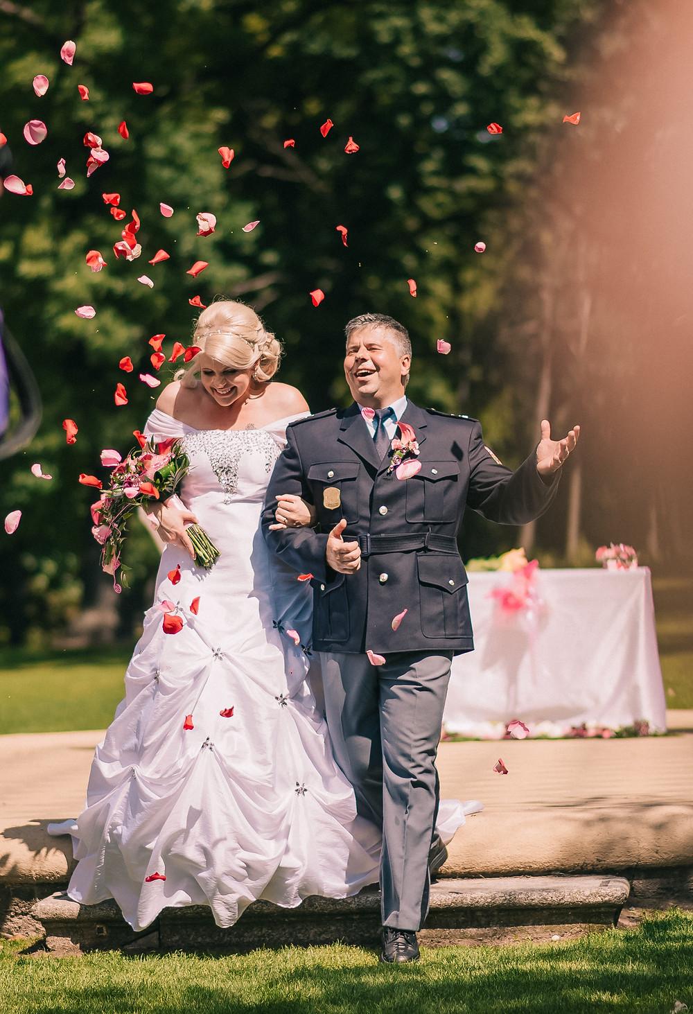 svatba  - den plný štěstí
