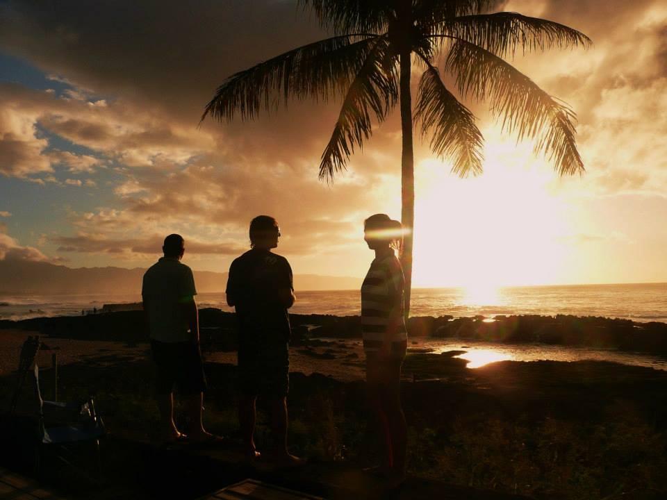 """Easy evening - pohoda na """"verandě"""" při západu slunce"""