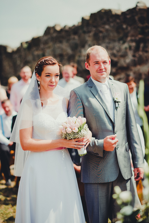 svatba v plném proudu