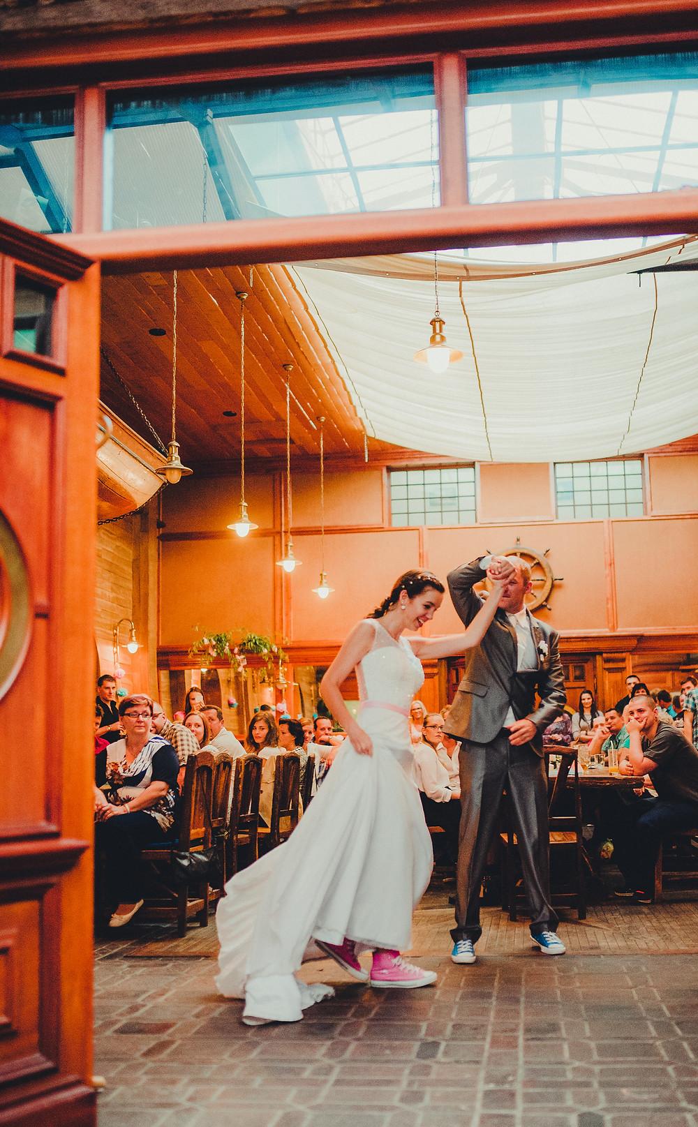 první tanec nevěsty a ženicha