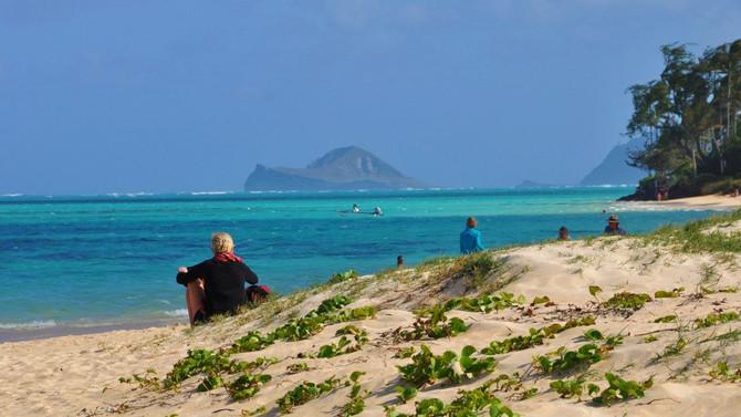 Lanikai - tak jak si představujete tropický ráj