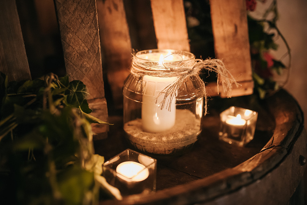 rustic wedding decor - bohemian czech