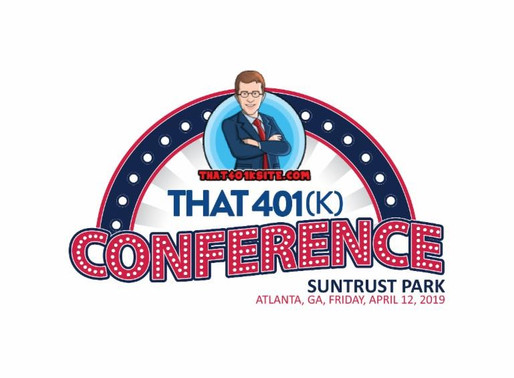The 401k conference is coming to Atlanta's Sun Trust Park.