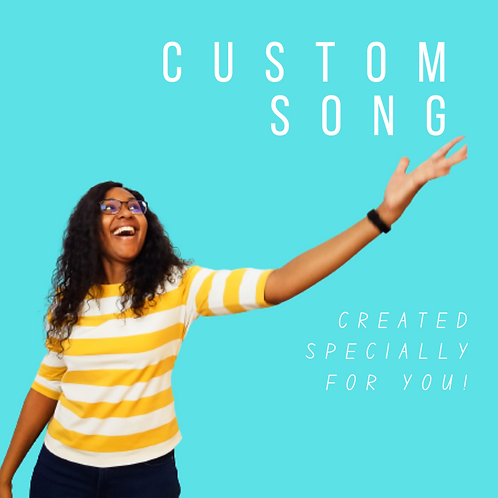 Custom Song (Vocal + Guitar or Piano)