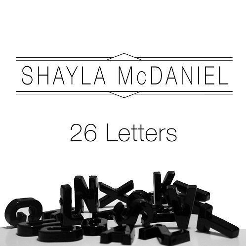 26 Letters CD