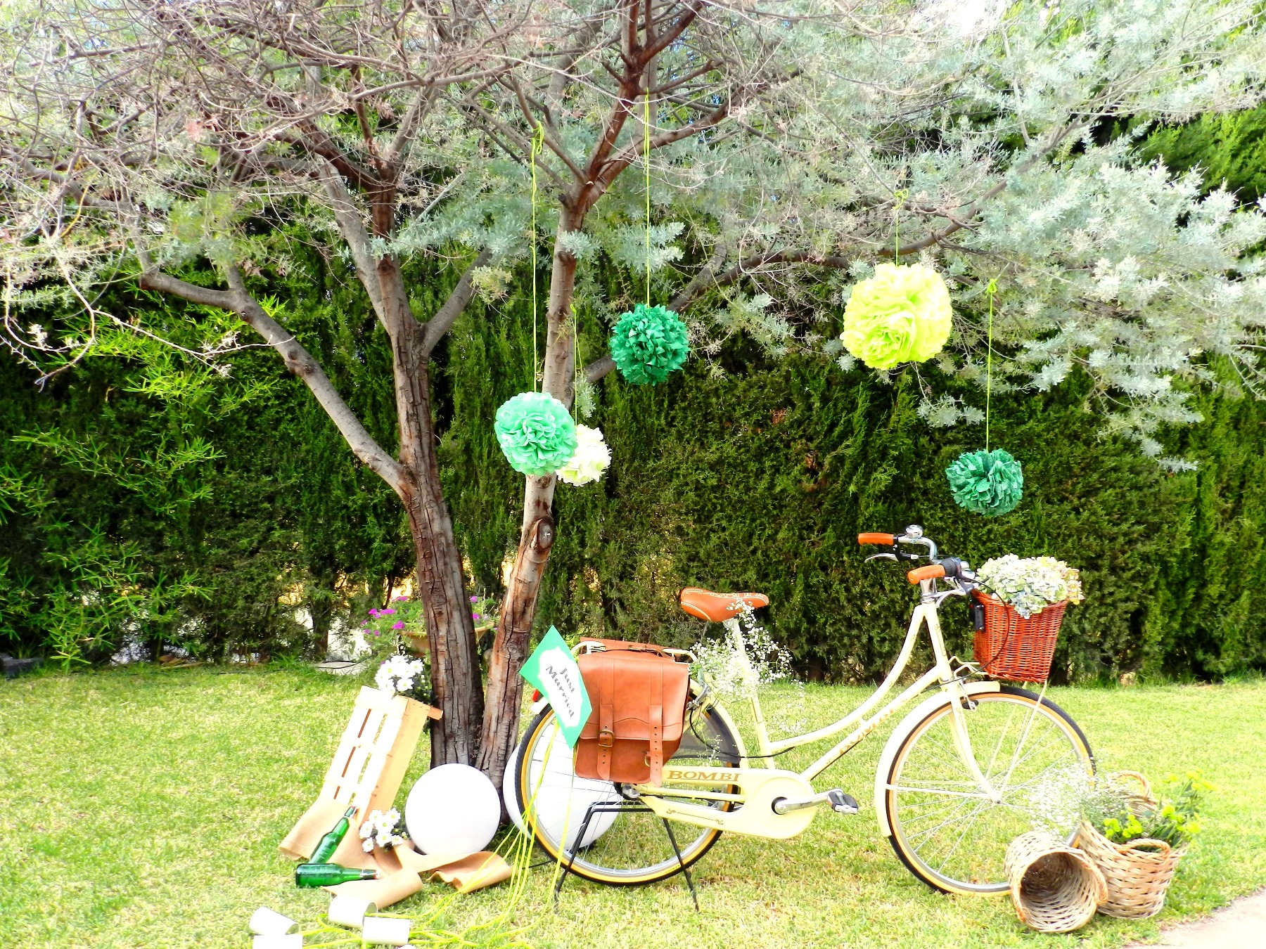 Torre Palomar foto bici vintage